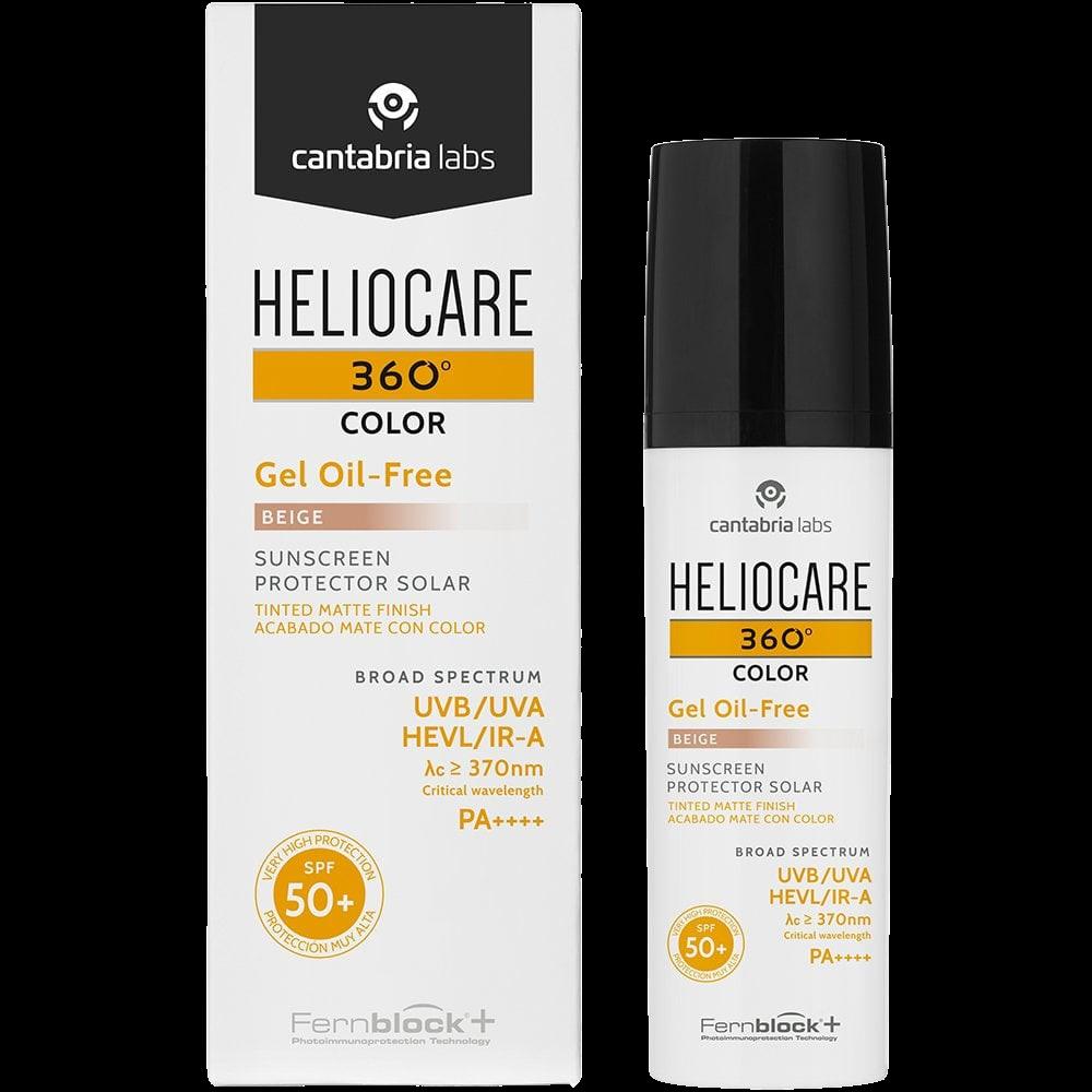 heliocare 360 colour gel oil free spf 50